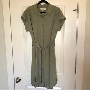 Thread + Supply Button Down Dress